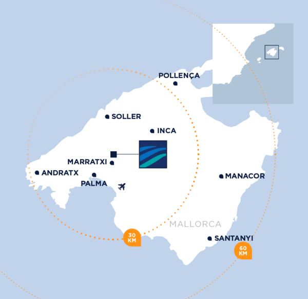Map Mallorca Fashion Outlet