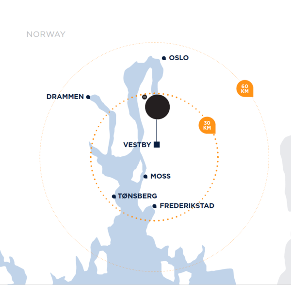Map Norwegian Outlet
